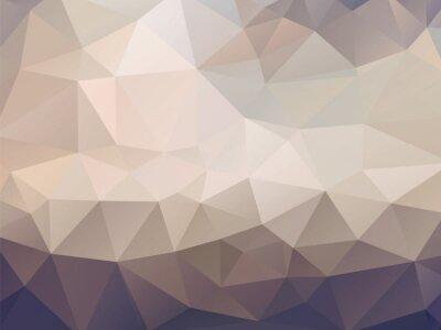 Fototapeta brązowe tło mozaiki geometrycznej