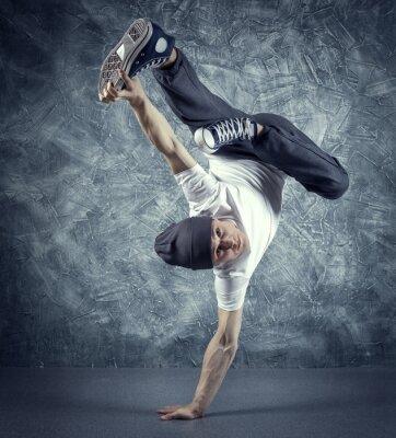 Fototapeta breakdancer