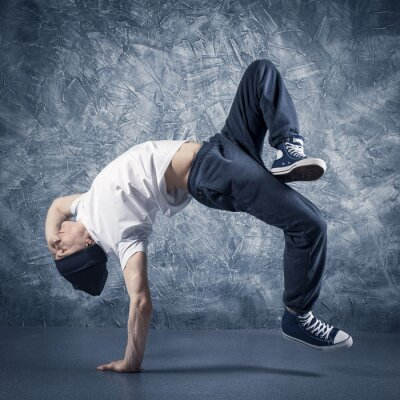 Fototapeta Breakdancer skoków