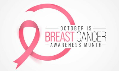 Fototapeta Breast Cancer awareness month (BCAM) is observed every year in October, to increase awareness of the disease and to raise funds for research into its cause, prevention, diagnosis, treatment and cure.