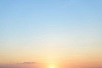 Breathtaking sunset, beautifull sky clouds background