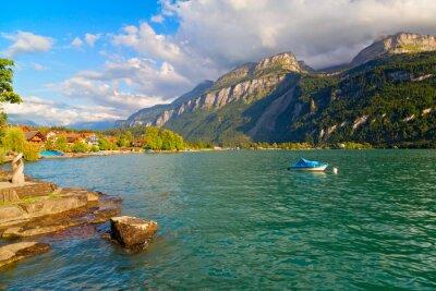 Fototapeta Brienz, Jezioro Brienz, Szwajcaria