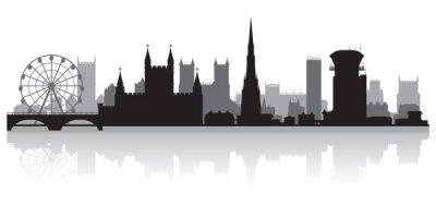 Fototapeta Bristol city skyline