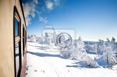 Fototapeta Brockenbahn