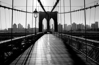 Fototapeta Brooklyn Bridge, Manhattan, Nowy Jork, USA