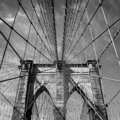 Fototapeta Brooklyn Bridge, Nowy Jork