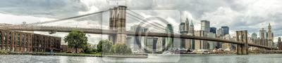 Fototapeta Brooklyn Bridge w Nowym Jorku, USA