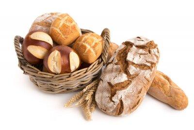 Fototapeta Brot und Brötchen