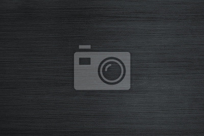 Fototapeta Brushed metal texture background. Stainless black steel