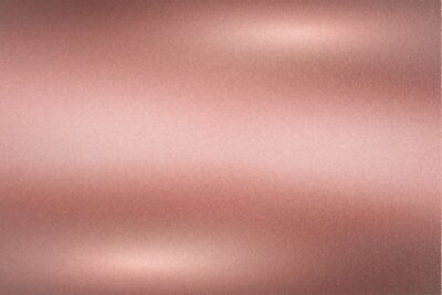 Fototapeta Brushed rose gold metallic wall with scratched surface, abstract texture background
