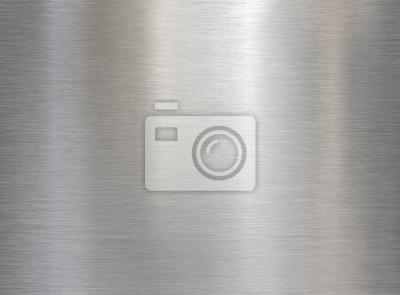 Fototapeta brushed steel or aluminum metal texture