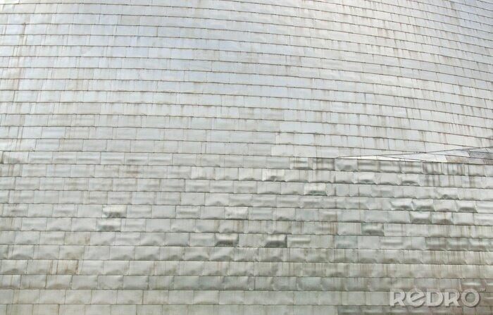 Fototapeta Brushed steel plate background
