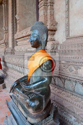 Budda w Hor Phakao (Haw Pha Kaew). Vientiane. Laos.