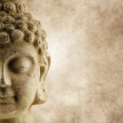 Fototapeta Buddha Grunge twarzy