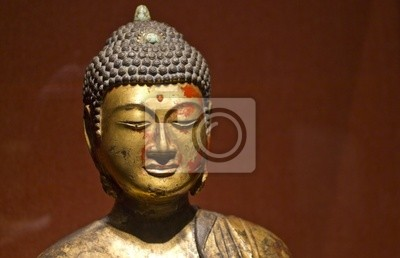 Buddha w złocie