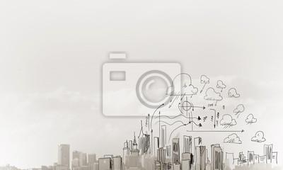 Fototapeta Budowa koncepcji