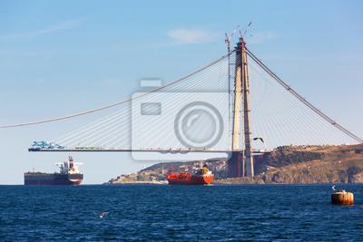 Budowa trzeciego mostu na Bosfor, Istambuł