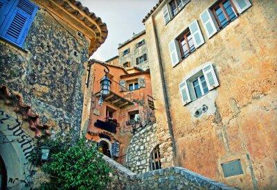 Fototapeta budynków w Francja wsi