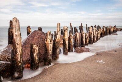 Fototapeta Buhne der Ostsee