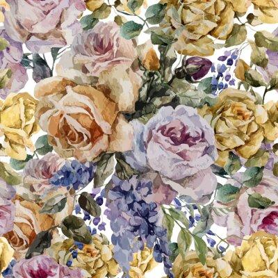 Fototapeta bukiet z róż