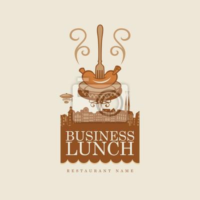 Business lunch z kiełbasy