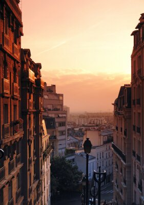 Fototapeta Butte Montmartre
