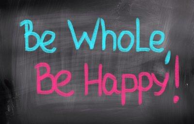 Fototapeta Być Cały Be Happy Concept