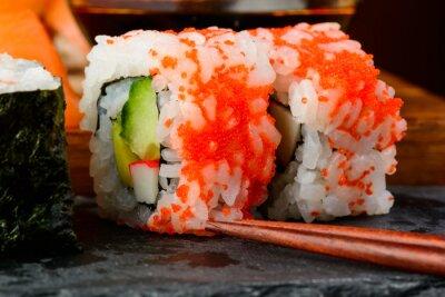 Fototapeta California sushi uramaki