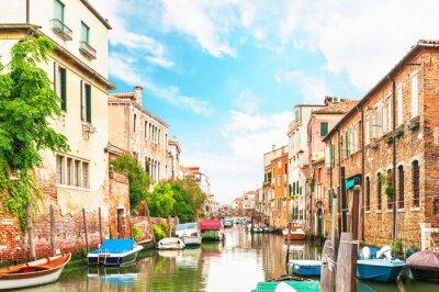 Fototapeta Canal Wenecja