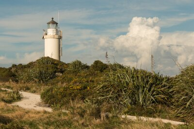 Fototapeta Cape Foulwind Lighthouse w Nowej Zelandii