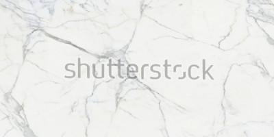 Fototapeta Carrara marble. Marble texture. White stone background
