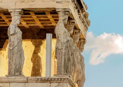 Fototapeta Caryatides, Acropolis of Athens