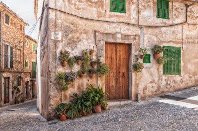 Fototapeta Casa Típica de Valldemossa