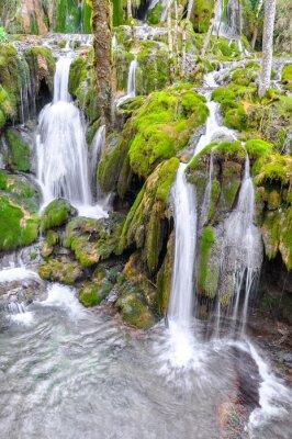 Fototapeta Cascada de la Tobería, Araba (España)
