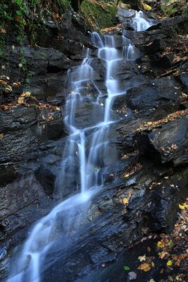 Fototapeta cascata Acquacheta Parco del Casentino toscana