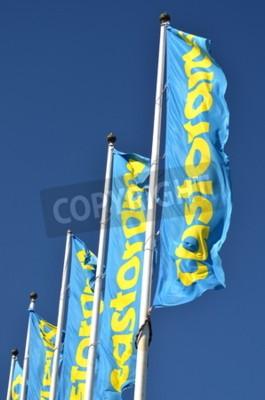 Castorama Znakiem Macha Flag Z Błękitnego Nieba Fototapety Redro