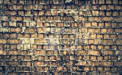ceglany mur grunge tekstury i tła