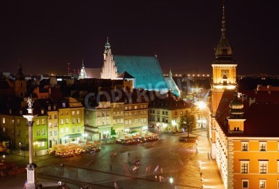 Fototapeta Centrum Warszawy na Starym Mieście