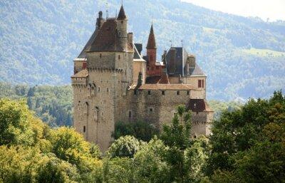 Fototapeta Château de Menthon