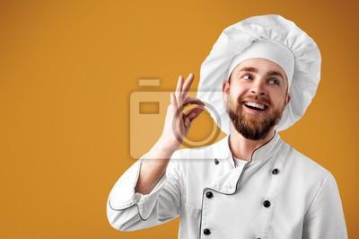 Fototapeta Chef.