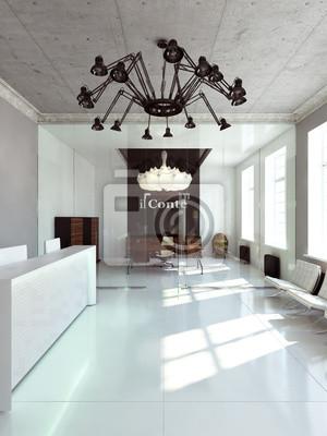 Fototapeta Chefbüro - minimalistyczna office manager