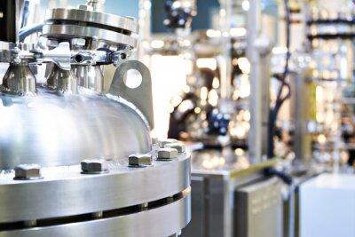 Fototapeta Chemical industrial titanium reactor