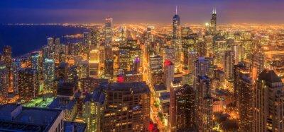 Fototapeta Chicago skyline