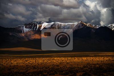 Chile, góry, krajobraz