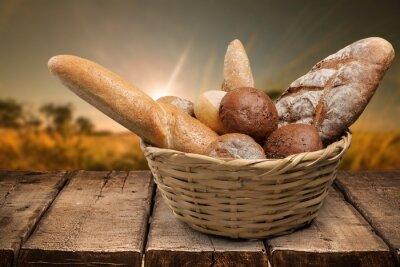 Fototapeta Chleb. Koszyk chleba