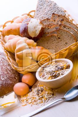 Chleb, Zboże Roślina, makarony.