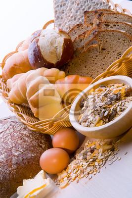 Fototapeta Chleb, Zboże Roślina, makarony.