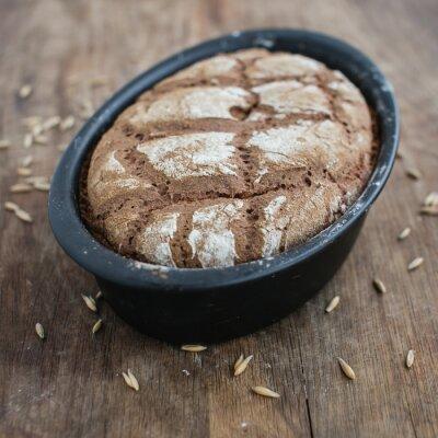 Fototapeta Chleb żytni na zakwasie domowej roboty
