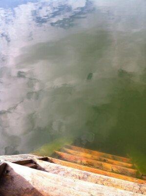 Fototapeta Chmury w wodzie