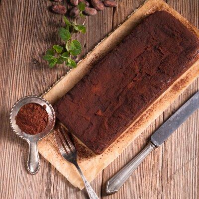 Fototapeta Chocolate brownie